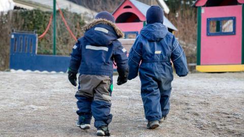 """""""En deprimerad och ensamstående förälder kostar mer för samhället än en öppen förskola."""" Foto: TT/NTB"""