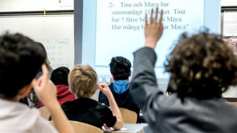 """""""Istället för att ta lärdom av vad eleverna, pedagogerna och föräldrarna gör som uppenbarligen fungerar så väljer man att leva iförnekelse för det faktum att en skola i förorten, med sina förutsättningar, kan lyckas"""", skriver debattören. Bild: Lars Pehrso"""