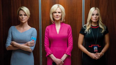 "Charlize Theron, Nicole Kidman och Margot Robbie i ""Bombshell.""  Bild: Hilary B. Gayle/Lionsgate AP/TT"