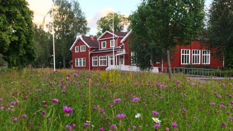 Fristads folkhögskola utanför Borås är en av Sveriges äldsta. Den startades 1879. Foto: Pressbild