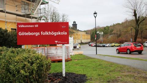Göteborgs folkhögskola är en av Sveriges största folkhögskolor. Den har verksamhet på Nya Varvet och i Biskopsgården. Bild: Sanna Arbman Hansing