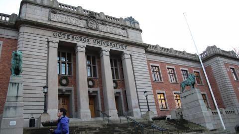 Många är antagna till vårterminen på Göteborgs universitet. Bild: Sanna Arbman Hansing