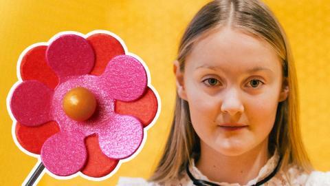 """""""Jag funderade inte så mycket, utan tänkte på vad jag gillade"""", säger Elin Eisele om sin blomdesign. Foto: Pressbild/Rasmus Brandin"""