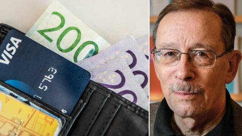 Ekonomiprofessorn Lars Calmfors anser att löneökningarna har varit för låga under lång tid. Foto:TT