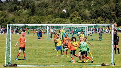 Nästan 40 000 unga fotbollsspelare kommer till Göteborg och Gothia cup i sommar.  Bild: TT
