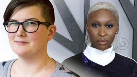 Signe Lidén / Cynthia Erivo. Bild: Dagens ETC / Willy Sanjuan/Invision/AP