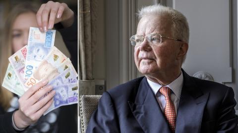 Svenska pengar / Finansmannen Fredrik Lundberg. Bild: Fredrik Sandberg/TT / Simon Rehnström/SvD/TT