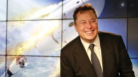Teslas vd Elon Musk. Bild: John Raoux/AP/TT
