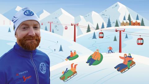 Martin Männer är ordförande för Göteborgs skidklubb.  Bild: Privat