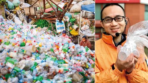 """""""Politiken saknar fortfarande lagstiftande styrmedel för exempelvis pantsystem"""", säger Tang Damin, som arbetar med plastfrågan för Greenpeace i den kinesiska huvudstaden Beijing. Bild: Shutterstock / Greenpeace"""