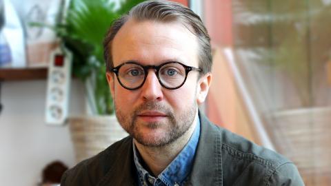 Stadsträdgårdsmästare Johan Rehngren ser till att Göteborg förblir en grön storstad.  Bild: Sanna Arbman Hansing