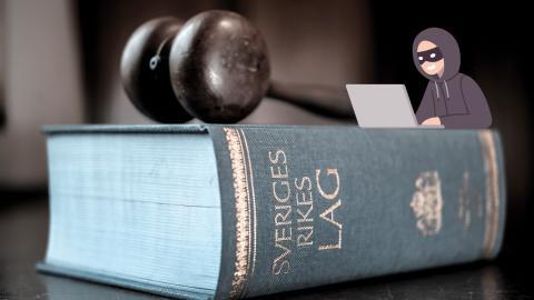 Polisen vill kunna använda hemlig dataavläsning för att komma åt den grova brottsligheten. Men den nya lag som riksdagen röstar igenom idag får kritik från flera håll. Bild: Anders Wiklund/TT och shutterstock
