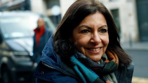 Paris borgmästare Anne Hidalgo statsar på ännu en mandatatperiod efter kommunalvalet i mars. Bild: Thibault Camus/TT