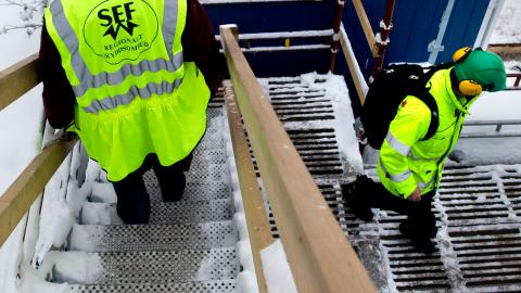 Som lagen ser ut idag får skyddsombuden bara utföra inspektioner på arbetsplatser där det finns ett kollektivavtal och där minst en anställd är fackmedlem. Foto: TT/Pontus Lundahl