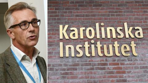 Jan Albert, professor i smittskydd vid Karolinska institutet. Bild: Bertil Enevåg Ericson/Fredrik Sandberg/TT