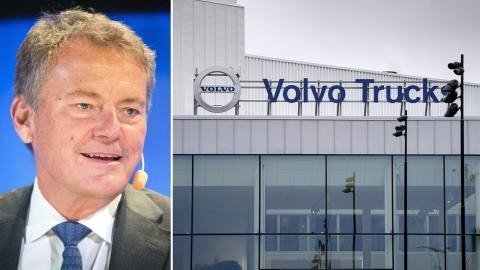 Carl-Henric Svanberg, styrelseordförande för AB Volvo. Bild: Thomas Johansson/TT / Björn Larsson Rosvall/TT