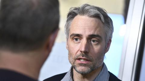 Anders Wallensten, biträdande statsepidemiolog på Folkhälsomyndigheten. Bild: Claudio Bresciani/TT