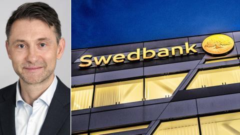 Andreas Wallström, tillförordnad chefekonom och global chef för Swedbank Makroanalys. Bild: Swedbank / Tomas Oneborg/SvD/TT