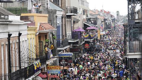 New Orleans den 25 februari 2020. Bild: Rusty Costanza/AP/TT