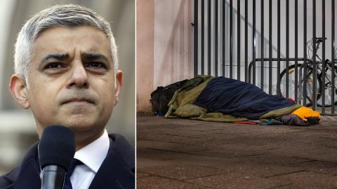 Sadiq Khan, borgmästare i London. Bild: Matt Dunham/AP/TT / Shutterstock