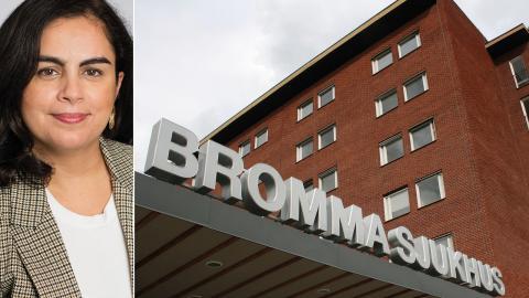 Talla Alkurdi (S), oppositionsregionsråd. Bild: SLL / Stockholms sjukhem