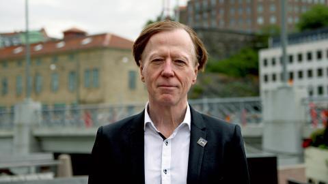 Under 23 månader 2015–2016 följde forskaren Bengt Lorentzon försöken med förkortad arbetstid på Svartedalens äldreboende. Bild: Christian Egefur