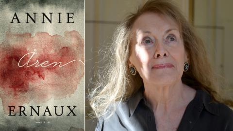 Författaren Annie Ernaux.  Bild: Catherine Hélie