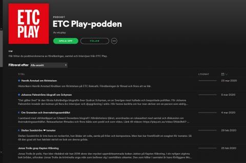 ETC Play-podden