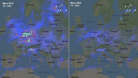 Bild: Rymdstyrelsen, Google och Copernicus