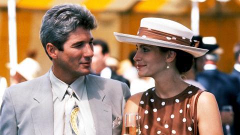 Richard Gere var till en början tveksam, men övertalades av Julia Roberts till att ta rollen som Edward.