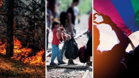 Medan hanteringen av coronapandemin måste få dominera samtal och tankar en tid framöver får vi inte släppa taget om andra bokstavligenlivsviktigasamhällsfrågor, skriver debattören.  Bild: Shutterstock
