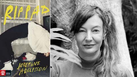 """Gig-ekonomi och livshantering: Författaren Josefine Adolfsson är aktuell med den nya romanen """"Rippad"""".  Bild: Miriam Preis/Natur & Kultur"""