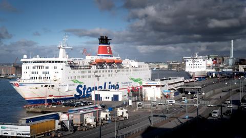 Stena Line varslade 950 anställda i måndags. Bild: Björn Larsson Rosvall/TT