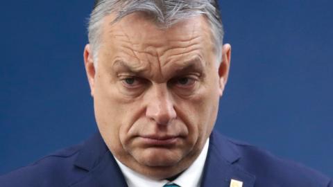 Ungerns premiärminister Viktor Orbán.  Bild: Ludovic Marin/AP/TT