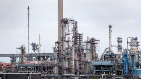 Preems oljeraffinaderi i Lysekil.  Bild: Thomas Johansson/TT