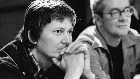Enquist på Dramaten, 1970. Foto: Ragnhild Haarstad/SvD/TT