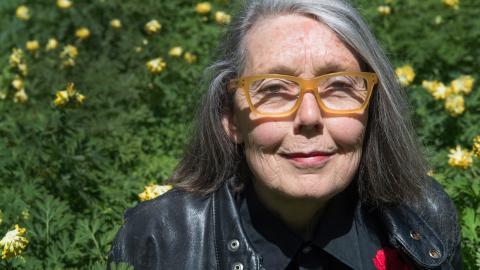 """Kanadensiska författaren Anne Carsons debutverk """"Eros den bitterljuva"""" finns nu för första gången på svenska.  Bild: Lars Pehrson/SvD/TT"""