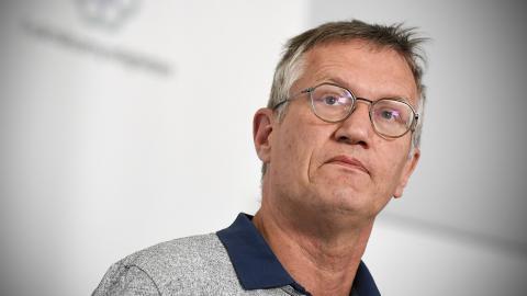 Anders Tegnell, statsepidemiolog. Bild: Pontus Lundahl/TT