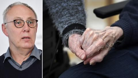 Thomas Lindén, avdelningschef på Socialstyrelsen. Bild: Henrik Montgomery/Janerik Henriksson/TT