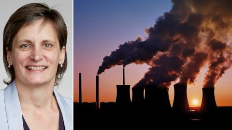Corinne Le Quéré, professor vid universitetet i East Anglia, Storbritannien, har lett forskningsarbetet. Bild: Shutterstock