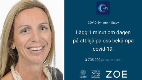 Maria Gomez på Lunds univeristet. Bild: Lunds universitet / Skärmdump