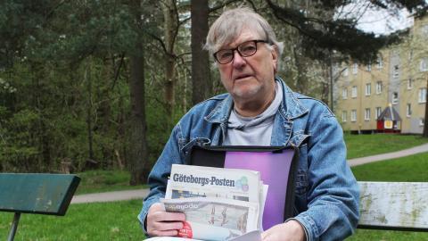 Johnny Lindén bodde på Skärsbo pojkhem som barn där han vanvårdades. Nu vill han ha upprättelse av svenska staten.  Bild: Julia Sandstén Vikberg