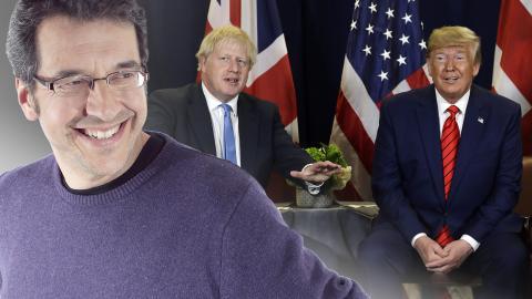 Storbritanniens premiärminister Boris Johnson och USA:s president Donald Trump. Bild: Evan Vucci Bild: The Guardian / Evan Vucci/AP/TT