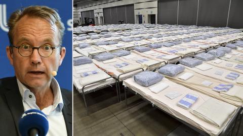 Björn Eriksson, hälso- och sjukvårdsdirektör i Region Stockholm. Bild: Anders Wiklund/Jonas Ekströmer/TT