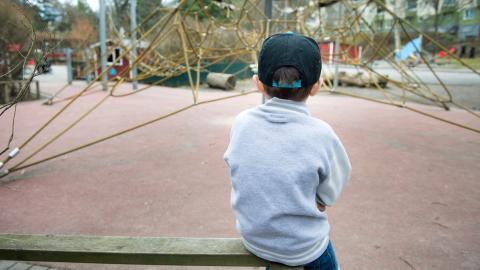 I Västra Götaland får inte ens vartannat barn (48%) sin första psykiatriska hjälp inom en månad. Bild: Jessica Gow/TT
