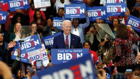 I början av augusti har Joe Biden sagt att det ska vara klart vem som blir hans vicepresident.  Bild: AP