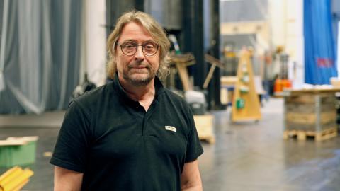 Göteborgs Stadsteaters vd och teaterchef, Björn Sandmark. Bild: Christian Egefur