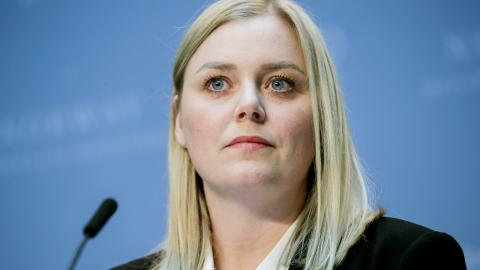 Oljeminister Tina Bru (H).