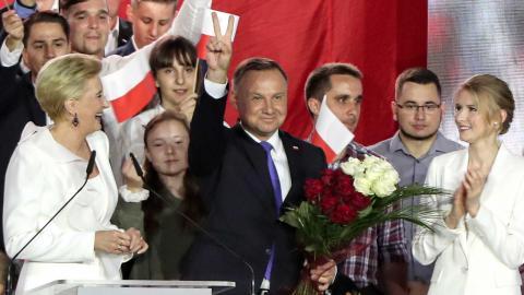 Andrzej Duda. Foto: TT/APCzarek Sokolowski