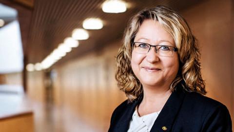Maria Grahn forskar om  drivmedel  på Chalmers tekniska högskola. Bild: Oscar Mattsson
